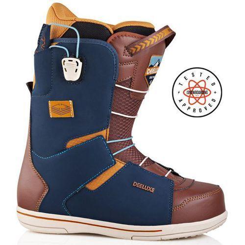 Buty snowboardowe - choice cf navy/brown (9259) rozmiar: 46 marki Deeluxe