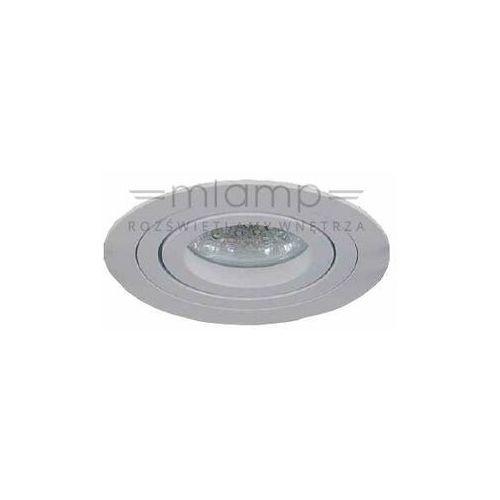 Orlicki design Oczko lampa sufitowa pio bianco metalowa oprawa podtynkowa wpust orkągły biały (1000000281798)