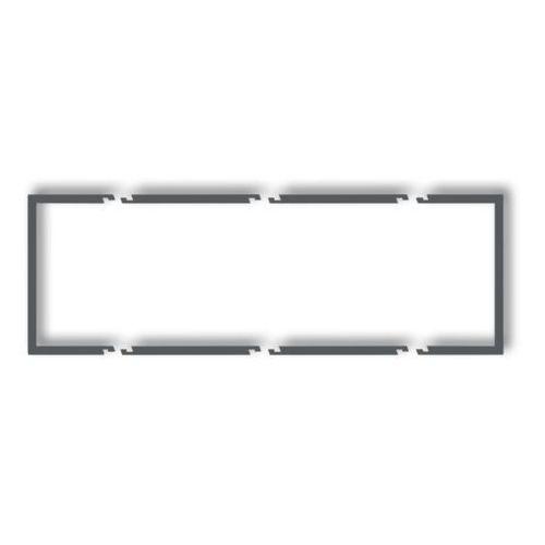 Karlik Ramka wypełniająca 3 potrójna drw-3, biały deco