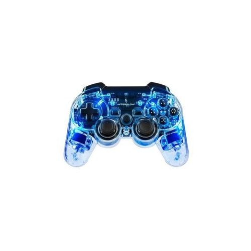 Pdp Kontroler bezprzewodowy 064-015-eu-bl afterglow blue do ps3/pc