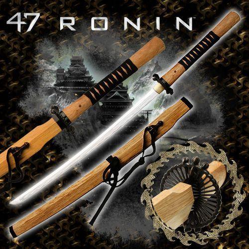 Usa Ręcznie kuty miecz samurajski katana tangu z filmu 47 roninów (mc-47r003)