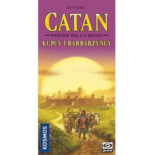 Gra catan - kupcy i barbarzyńcy dodatek dla 5-6 graczy marki Galakta