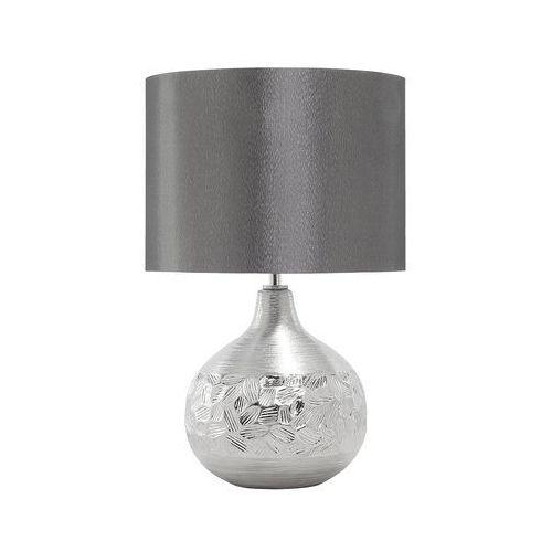 Beliani Nowoczesna lampka nocna - lampa stojąca w kolorze srebrnym - yakima