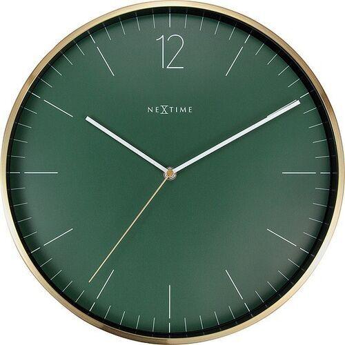 Zegar ścienny essential gold zielony (8717713026358)