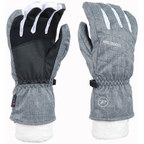 ROSSIGNOL Rękawice W LYNA IMPR G heather grey (3607682086840)