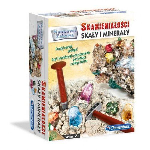 Skamieniałości. Skały i minerały Clementoni z kategorii Zabawki kreatywne