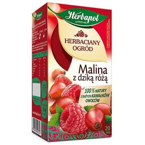 Herbapol Herbata a20 o. malina-dz. róża