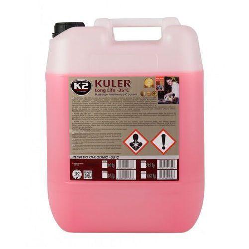 Płyn do chłodnic kukler 20 kg czerwony marki K2