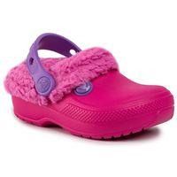 Kapcie - classic blitzen iii clog k 204655 candy pink/party pink marki Crocs