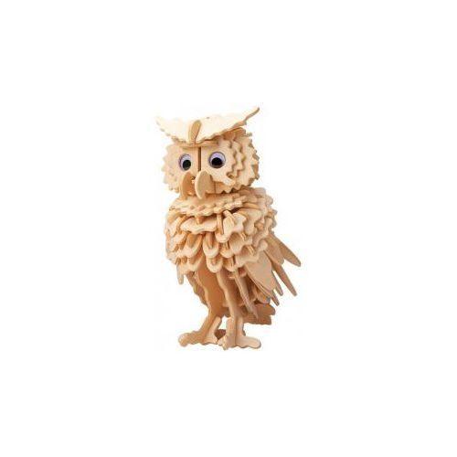 Łamigłówka drewniana gepetto - sowa (owl) - szybka wysyłka (od 49 zł gratis!) / odbiór: łomianki k. warszawy marki Eureka