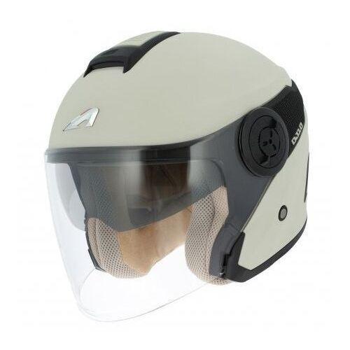 dj10-2 mono color pearl white/bk kask otwarty marki Astone