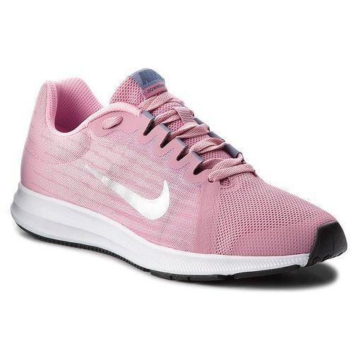 Nike Buty - downshifter 8 (gs) 922855 600 elemental pink/metallic silver