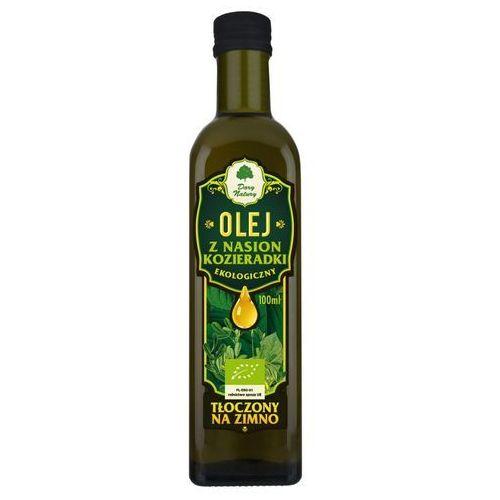 Dary natury - inne bio Olej z nasion kozieradki bio 100 ml - dary natury (5902581617910)