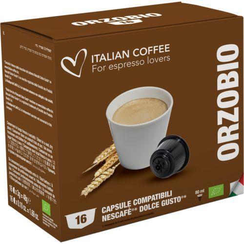 Nespresso kapsułki Orzo bio (kawa zbożowa) 16 kapsułek do dolce gusto