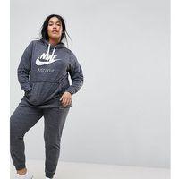 Nike Plus Gym Vintage Sweat Pants In Grey - Grey