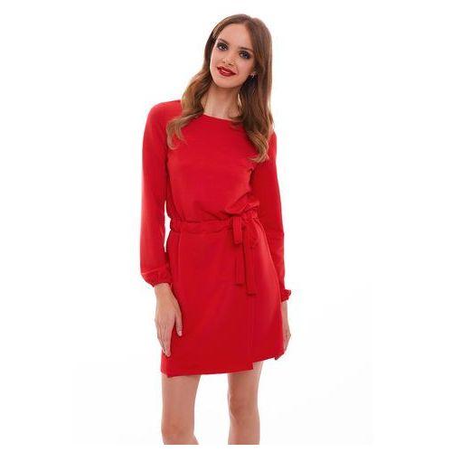 Sugarfree Sukienka tivoli w kolorze czerwonym