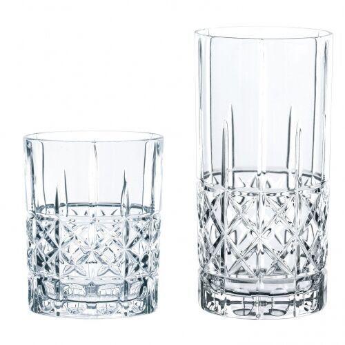Spiegelau & Nachtmann Highland 12szt - zestaw szklanek kryształ, szklanki, 100719