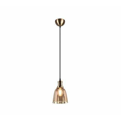 Trio RL Vita R30741004 lampa wisząca zwis 1x28W E27 brązowa/bursztynowa (4017807465983)