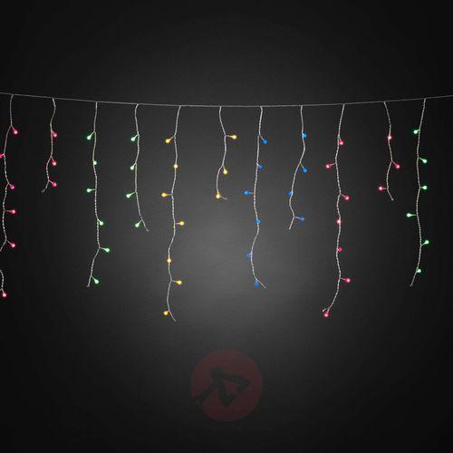 Konstmide christmas Kurtyna świetlna led lodowy deszcz kolorowa 200pkt (7318306725033)