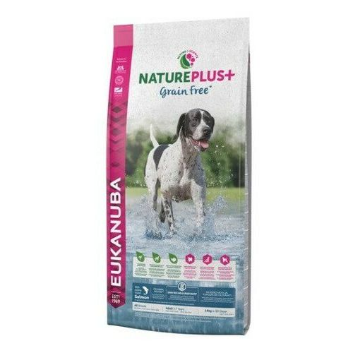 Eukanuba sucha karma dla psa Nature Plus+ Adult Grain Free Salmon 2,3kg, 1744-100001