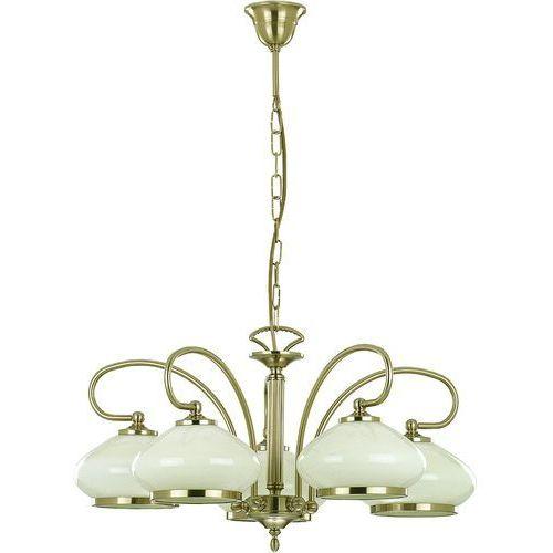 Lampa wisząca astoria 05321.63 żyrandol oprawa 5x60w e27 patyna >>> rabatujemy do 20% każde zamówienie!!! marki Alfa