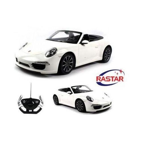 Duże Zdalnie Sterowane Porsche 911 Carrera S Cabrio (1:12) + Bezprzewodowy Pilot.