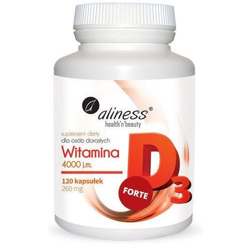 Witamina D3 FORTE 4000 j.m. 120 kapsułek (lek witaminy i minerały)