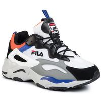 Sneakersy FILA - Ray Tracer Cb 1010925.92R White/Black/Mandarin Orange, w 4 rozmiarach