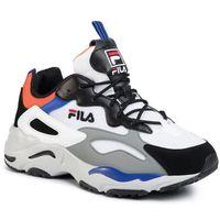 Sneakersy - ray tracer cb 1010925.92r white/black/mandarin orange, Fila, 40-46