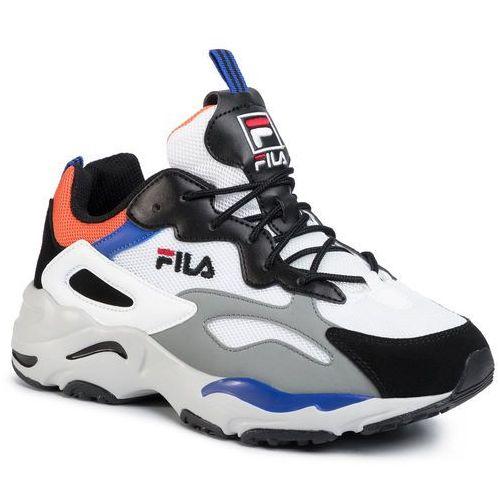 Sneakersy FILA - Ray Tracer Cb 1010925.92R White/Black/Mandarin Orange, w 3 rozmiarach