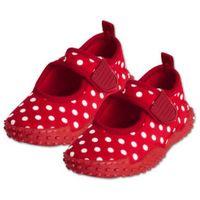 buty do wody aqua kolor czerwony, kropki marki Playshoes