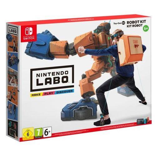 Nintendo Zestaw labo robo kit + darmowy transport! (0045496421595)