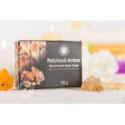 Mydełko z olejkami esencjonalnymi - patchouli amber marki Song of india