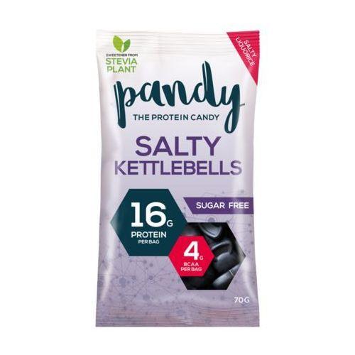 Pandy Protein Salty Kettlebells - Lukrecjowe Żelki Proteinowe ze Stevią - 70g
