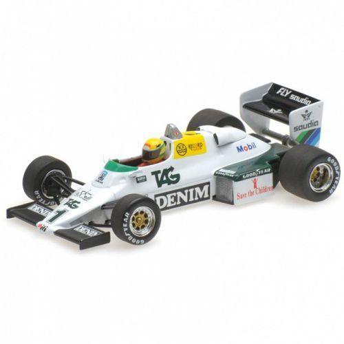 Williams FW 08C Ford Ayrton Senna Donington Park Test 19th July 1983 - DARMOWA DOSTAWA!!!