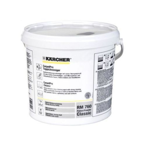 Karcher proszek do czyszczenia dywanów i tapicerki rm 760 (6.291-388.0)