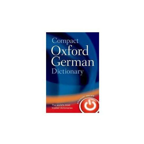 Compact Oxford German Dictionary - Wysyłka od 3,99 - porównuj ceny z wysyłką (9780199663125)