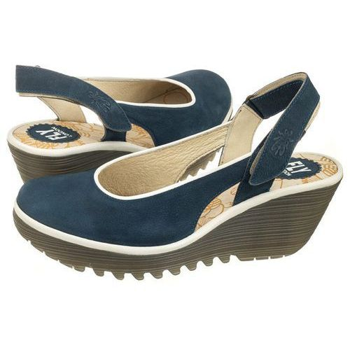 Sandały FLY London Yipi Cupido/Rug Blue/Off White P500831004 (FL258-a), kolor niebieski