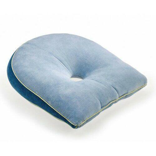 Poduszka przeciwodleżynowa klinowa z otworem, 45 cm x 36 cm