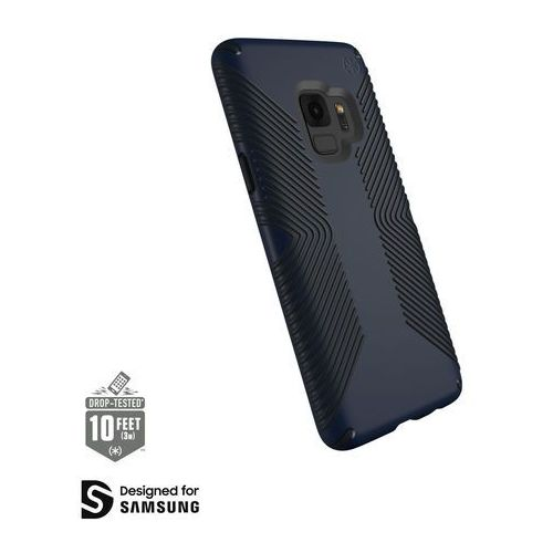 Speck Presidio Grip Etui Obudowa Samsung Galaxy S9 (Eclipse Blue/Carbon Black)