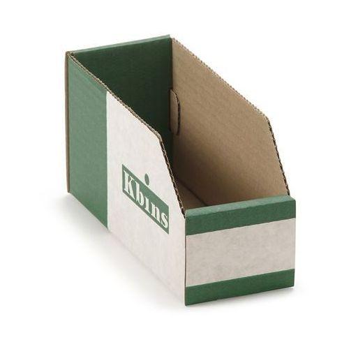 K bins limited Skrzynki regałowe z kartonu, składane, opak. 50 szt., dł. x szer. x wys. 200x75x