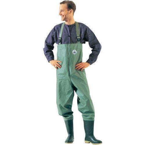 Wodery (spodniobuty)  1730 rozmiar ubrania=47 zielonooliwkowy marki Fiap
