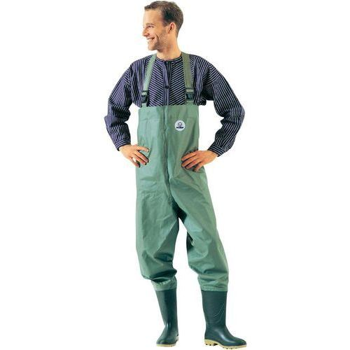 Wodery (spodniobuty) FIAP 1730, Zielonooliwkowy z kategorii odzież i obuwie wędkarskie