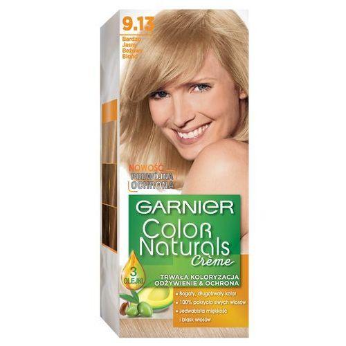 Farba do włosów garnier color naturals créme 9.13 bardzo jasny beżowy blond marki Loreal