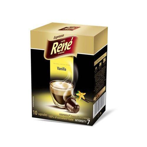 Rene vanilla (kawa aromatyzowana) kapsułki do nespresso – 10 kapsułek marki Nespresso kapsułki