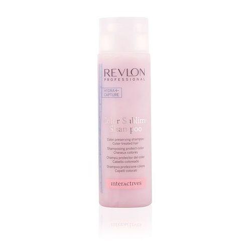 Revlon  interactives color sublime shampoo 250ml w szampon do włosów farbowanych (8432225999951)