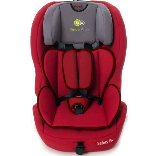 Fotelik samochodowy  safety-fix z systemem isofix czerwony marki Kinderkraft
