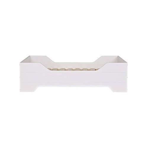 Woood łóżko dziecięce fien białe - woood 350630-gbw (8714713051816)