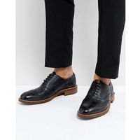 pebble brogues in black leather - black marki Dune