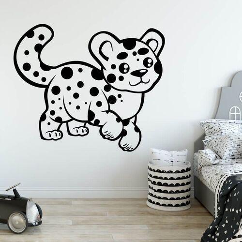 Wally - piękno dekoracji Szablon malarski dla dzieci puma 2410